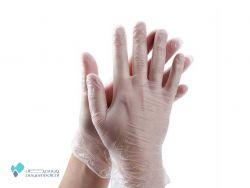 دستکش وینیل 25 عددی اپی پرفکت سایز M