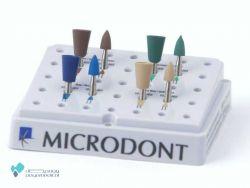 کیت پولیش آمالگام 8 عددی | Abrasive Silicon Amalgam Kit